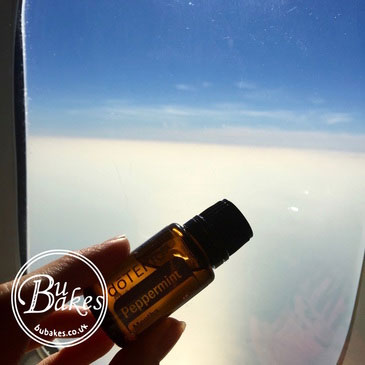 essential oils for sleeping during a flight